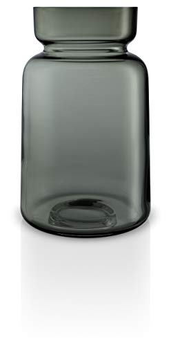EVA SOLO Silhouette Glasvase, Smokey Grey (22 cm)