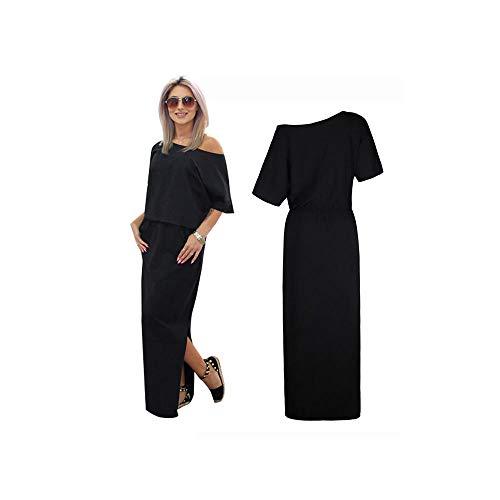 Abito da Donna Speciale da Sposa 2019 off Maxi Abito da Sera Slim Split Side Slim Dress