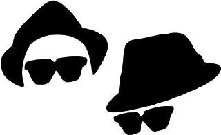 The Blues Brothers Musik Hochwertigen Auto Autoaufkleber 15 x 8 cm