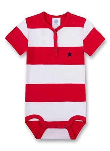 Sanetta Baby-Jungen Formender Body, Rot (Rouge 3480), 56 (Herstellergröße: 056)