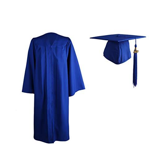VICKY-HOHO Graduation Cap 2020 Unisex High School Graduation Master Bachelor Cap Kleid Quaste Set Home Decoration Home DIY