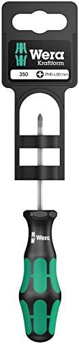 Wera 350 PH SB Schraubendreher für Phillips-Schrauben , PH 0 x 60 mm, 05100050001