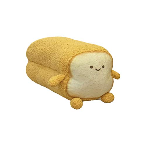 WLPTION Cute Toast Plush Toy Plush Pillow Stuffed Sofa Back Cushion Children Baby Birthday Gift