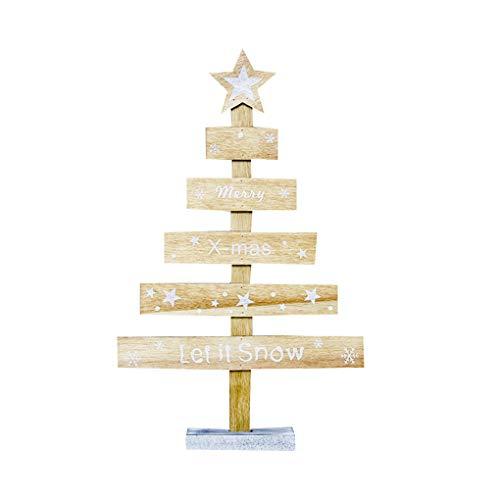 Junecat Letras de Madera de Navidad árbol de Color Vector de gráfico única decoración de Navidad Decorativos Acesórios
