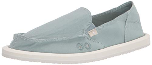 Sanuk womens Donna Daily Loafer, Gray Mist, 9 US