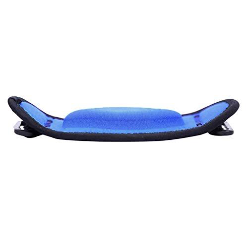MagiDeal Coderas con Almohadillas de Compresión,Coderas Deportivas Tenis Alivio Dolor y Reduce Fatiga de Brazos Soporte de Codo de Tenista - Azul