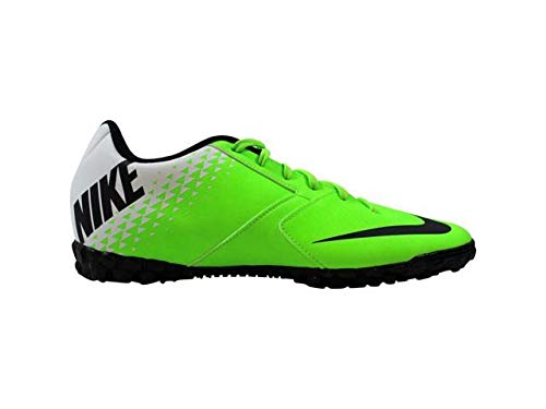 Nike Bomba TF Turf Electric Green/Black-White Soccer Shoes...