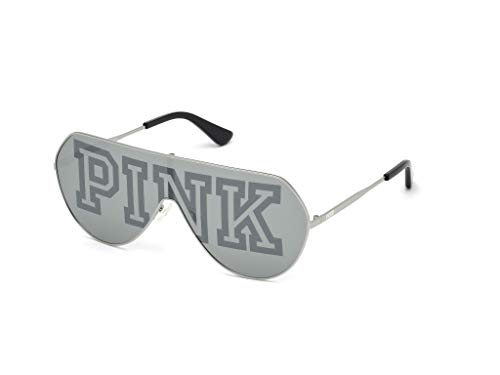 Victoria's Secret PK0001, Gafas Mujer, Palladio luc/fumo specchiato, 00