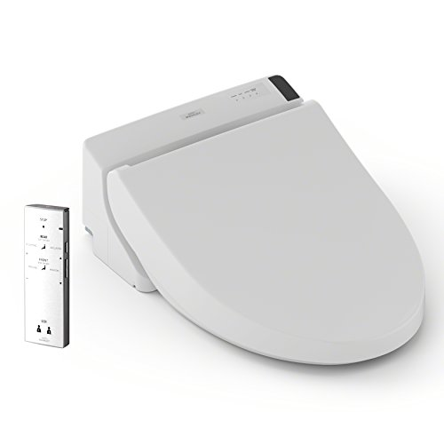 TOTO SW2024#01 A200 WASHLET Electronic Bidet Tolet Seat with SoftClose Lid, Elongated, Cotton White