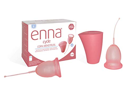 Enna Cycle Enna Cycle Enna Cycle Menstruationstasse (L) 2 Becher + Karton 300 g