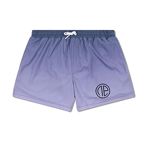 ShFhhwrl Pantaloncini Comodi e Traspiranti Pantaloncini da Uomo Pantaloncini Sportivi da Uomo Pantaloncini ad Asciugatura Rapida a col