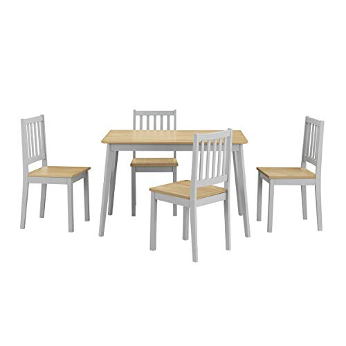 simplyUSAhello 5 Piece Mid Century Modern Dining Table Set