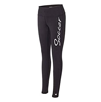 Soccer Black Legging - The Perfect Everyday Classic Tights for Athletic Girls and Women