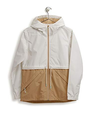 Burton Womens Narraway Jacket, Stout White/Safari, Large