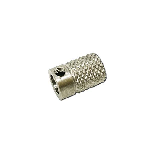 MANMANYU For DIY UM2 Ultimaker 2 Extrusion Wheel Wire Stainless Steel Knurled Wheel 3D Printer Parts Printer Accessories