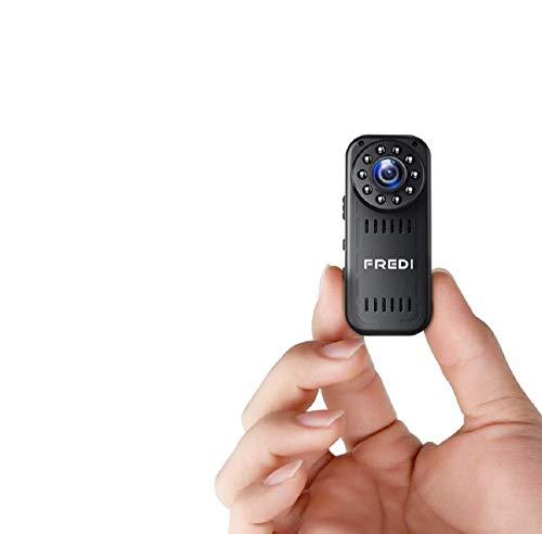 FREDI HD1080P WIFI cámara espía cámara espía mini cámara espía cámara de vigilancia interior IP cámara de vigilancia Spy Cam WiFi cámara espía versión actualizada