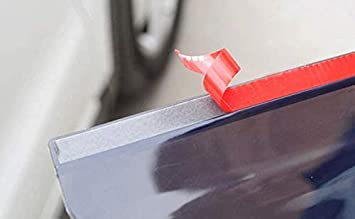 Yahpetes Black Mirror Rain Visor Smoke Guard 2 Pcs Car Rain Visor 7.3X2.4 Black Flexible Mirror Cover Rubber Carbon Fiber Rear View Mirror Visor Guard for Most Car Truck and SUV Black