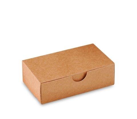 Selfpackaging Caja para jabones, Tarjetas de Visita o pequeños Objetos. Pack de 50 Unidades