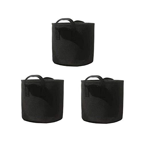 WXHXSRJ Pflanzenanbau-Beutel, 3er-Pack...