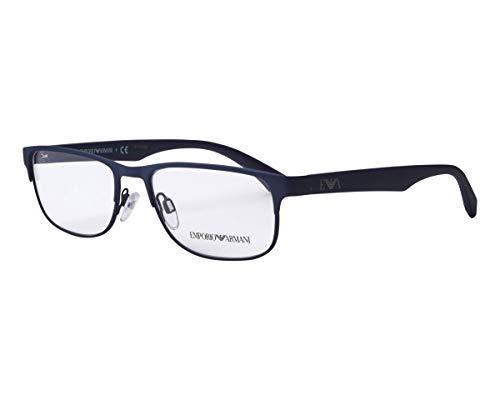 Emporio Armani Gafas para hombre EA1096, 3003, 53