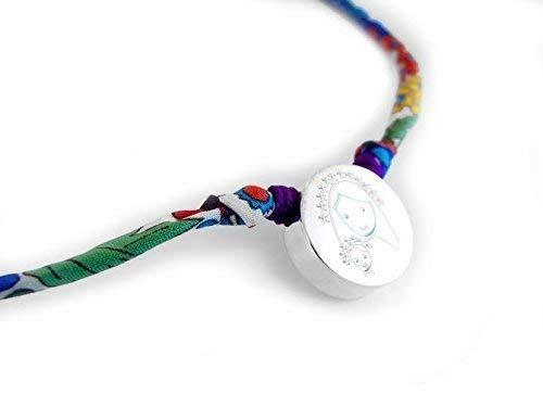 Regalo Primera Comunión/Collar con Medalla de la Virgen Niña/Liberty
