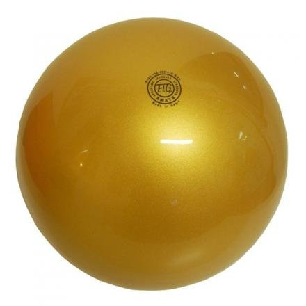 Pelota Amaya Ritmica plástico oro Gr.240homologada Fig