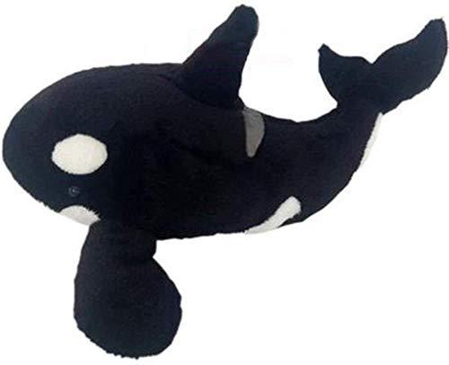 JIAL Aquarium chiraku dila gefüllte Spielzeug weich spielzeughaus Dekoration (Farbe: schwarz, Größe: 55 cm), Größe: 75 cm, Farbe Name: Schwarz (Farbe: schwarz) Chongxiang (Color : Black)