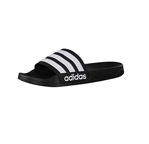 adidas Cloudfoam Adilette Chanclas, color Negro, talla 40.5 EU