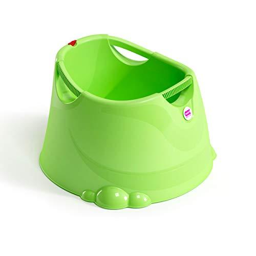 OKBABY Oplà - Vaschetta Ampia e Versatile per il Bagnetto del Neonato 12-36 Mesi (fino a 25 kg) - Verde