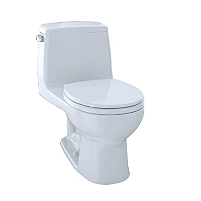TOTO MS853113#01 Ultimate Round One Piece Toilet, Cotton White