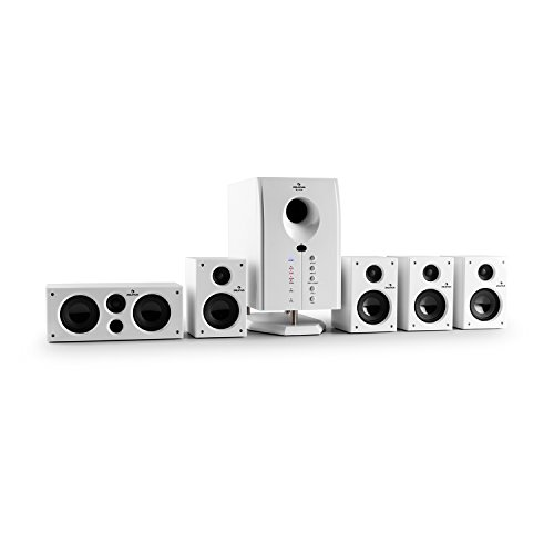 auna Areal 525 WH - Sistema de Sonido Envolvente 5.1 , Home Cinema , Surround ,...