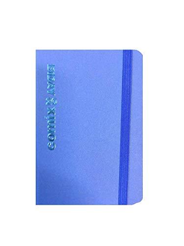 Agenda Comix Biday 2020 Bigiornaliera Blu con Elastico Formato Mini 7x10 cm