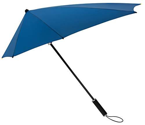 STORMaxi Aerodynamisch Storm Paraplu Lang - 100km/h - Kobaltblauw