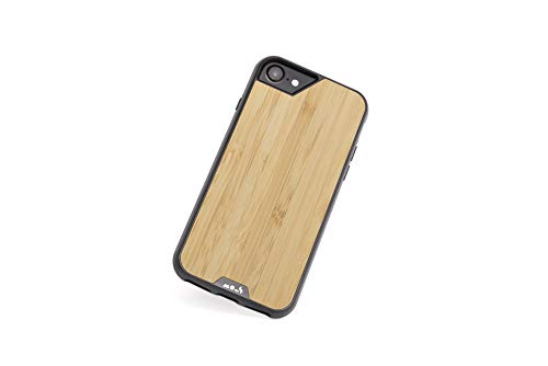Mous - Protective Case for iPhone SE/8/7/6S/6 - Limitless 2.0 - Bamboo - Screen Protector Included