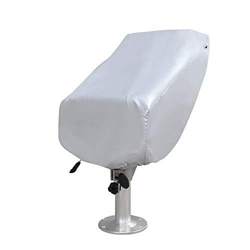 Seamander Captain Bucket Seat,Sport Flip Up Seat (4 Colors) (Ivory/Blue&Tan)