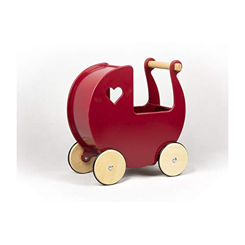 MOOVER 888035 Toys Puppenwagen, rot