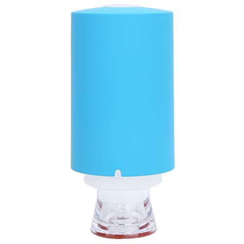 Sellador al vacío de compresión recargable USB bomba de compresión eléctrica portátil de alta eficiencia azul, para secar la ropa