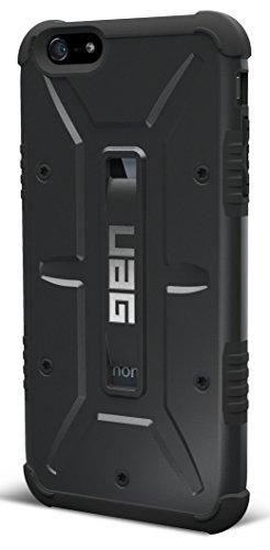 【日本正規代理店品】URBAN ARMOR GEAR iPhone 6s Plus/6 Plus (5.5インチ)用コンポジットケース ブラック フラストレーションフリーパッケージ(FFP) UAG-FIPH6SPLS-BLK