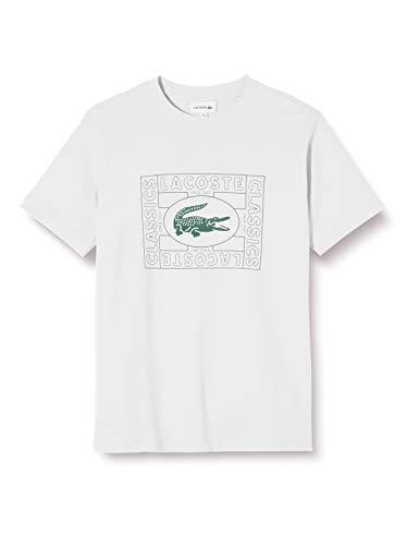 Lacoste Tj9508 Camiseta, Marfil (Farine 70v), 12 años (Talla del Fabricante: 12A) para Niños
