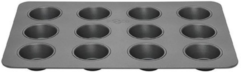 Todo en alta calidad y bajo precio. Bake Porter 12-Cup Muffin Pan, gris by Bake Porter Porter Porter  están haciendo actividades de descuento
