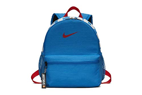 Nike Y NK BRSLA JDI Mini BKPK Mochila, Juventud Unisex, Cool Grey/Black/Racer...