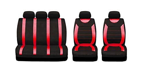 Sakura SS5293 Juego completo fundas asientos coche