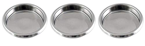 Gas N Pow3r X3Puly Caff Filtro cieco Blanking Disco in Acciaio Inox 58mm Backflushing Commerciale per Macchine da caffè