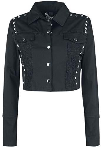 Heartless Tiia Jacket Girl-Jeans-Jacke schwarz L
