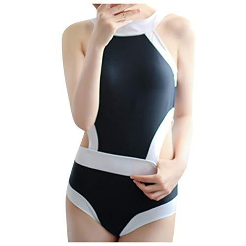 Eaylis Damen Bademode Sexy Bikini Push-Up Gepolsterte BH Anzug EIN Stück Beach Badeanzug Set Strandmode Sport Schwimmanzug