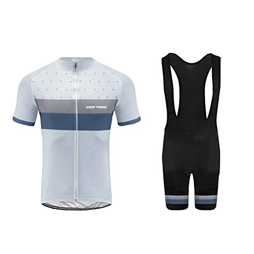 Uglyfrog Maillot Ciclismo Hombres Orbea,Orbea Maillots de Bicicleta Conjunto de Jersey de...