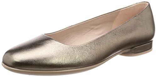 Ecco Damen Anine-208003 Geschlossene Ballerinas, Gold (Stone Metallic 51147), 40 EU