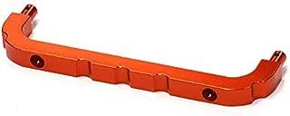 Integy RC Model Hop-ups BAJ291ORANGE Billet Machined Roll Cage Front Mount for HPI Baja 5B2.0, 5T & 5SC