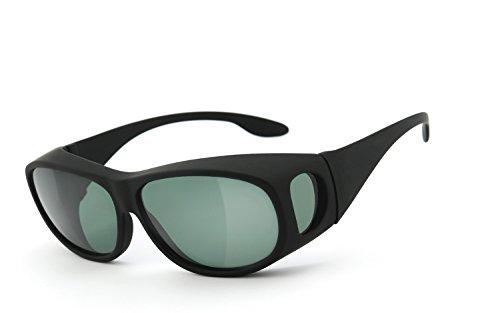 Skipper®   Überziehbrille, Überbrille (POLARISIEREND) - für Brillenträger   Polbrille, Sonnenbrille   UV400 Schutz   Brille: 2196