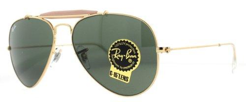 Big Sale Best Cheap Deals Ray-Ban Men's Outdoorsman II Rainbow Oval Sunglasses,Arista,55 mm